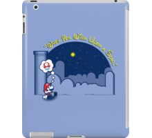 Make A Wish 2.0 iPad Case/Skin