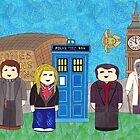 9th Doctor and his companions by HappyDoctors
