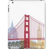San Francisco skyline poster iPad Case/Skin