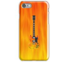 Fire Guitar! iPhone Case/Skin