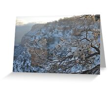 Grand Canyon Snow Greeting Card