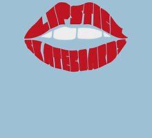 Skateboard lipstick Womens Fitted T-Shirt