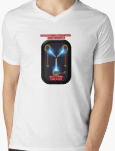 Capacitor Drive Mens V-Neck T-Shirt