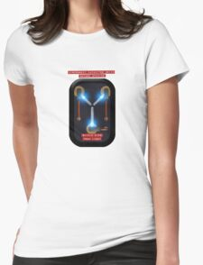 Capacitor Drive Womens Fitted T-Shirt