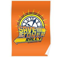 Save The Clock Tower Poster