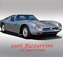 1966 Bizzarrini GT 5300 Strada by DaveKoontz