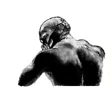 Bane - Charcoal & Ink sketch Photographic Print