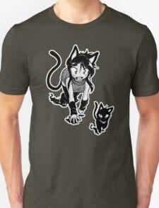 Curious Kitty Unisex T-Shirt