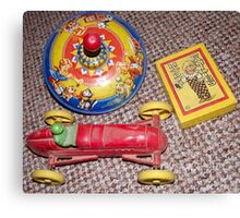 old toys Canvas Print