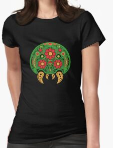Dia De Los Metroids Womens Fitted T-Shirt