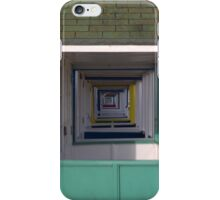 Beach Huts, Southwold, England iPhone Case/Skin