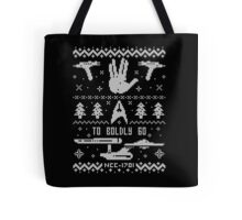 To Boldly Go Tote Bag
