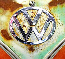 VW Volkswagen Badge by NuclearJawa