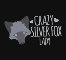 Crazy Silver Fox Lady by jazzydevil