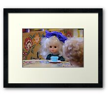 beautiful doll  Framed Print