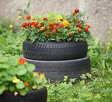 floral flowerbed by mrivserg