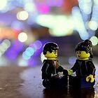 Lego Couple by Victoria Lincoln