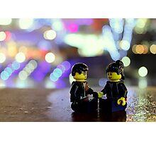 Lego Couple Photographic Print