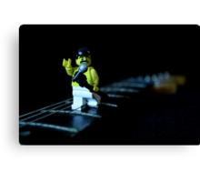 Lego Freddie Mercury Canvas Print