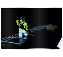Lego Freddie Mercury Poster