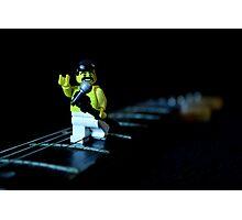 Lego Freddie Mercury Photographic Print