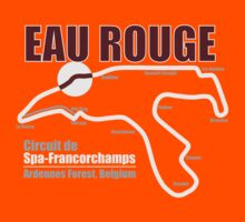 Spa-Francorchamps - Eau Rouge (Dark Shirts) by oawan