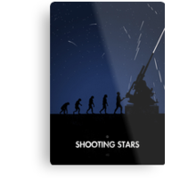 99 Steps of Progress - Shooting stars Metal Print