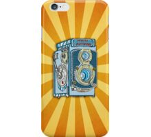 Minolta Vintage Twin Reflex Illustrated iPhone Case iPhone Case/Skin