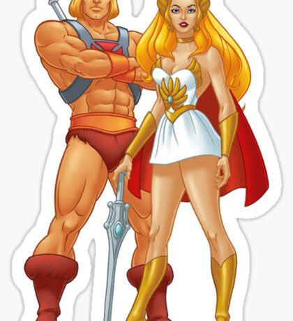He-Man And She-Ra Sticker
