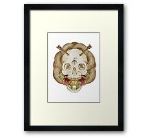 Skulls and Arrows Framed Print