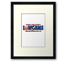 Harry & Lloyd's Framed Print