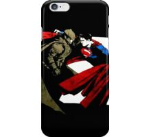 Batman V Superman Production Logo iPhone Case/Skin