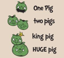 1 Pig, 2 Pigs by moysche