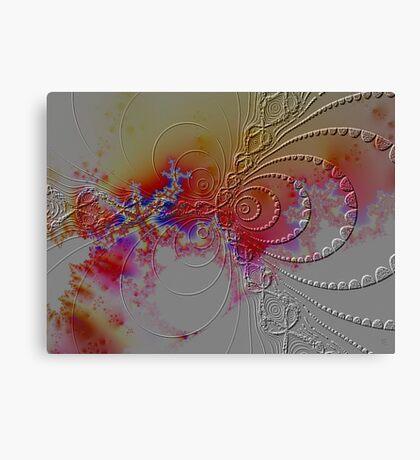 atomic forces Canvas Print