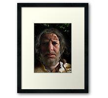 nafets neandertalensis Framed Print