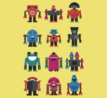 Robots Kids Clothes