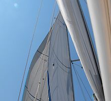 Amel Santorin sailboat sail 1 by SlavicaB