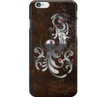 Industrial rusty and silver texture iPhone Case/Skin