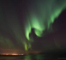 green waves by JorunnSjofn Gudlaugsdottir