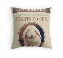 Somewhere in the world.. Throw Pillow