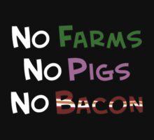 No Farm No Pig No Bacon by kalitarios