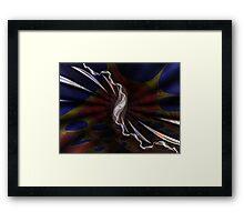 fractal batiks Framed Print
