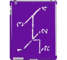 VW iPad case - VW Gear Shift - White on Purple iPad Case/Skin