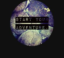 Start Your Adventure Womens Fitted T-Shirt