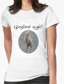 oopnam gangLAMB STYLE! Womens Fitted T-Shirt