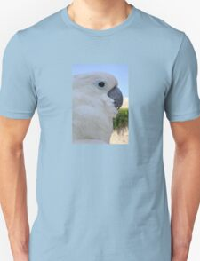 Side Portrait Of A Blue-Eyed Cockatoo T-Shirt