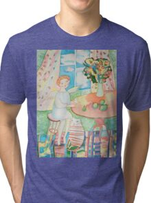 Summer Angel in the Country Tri-blend T-Shirt