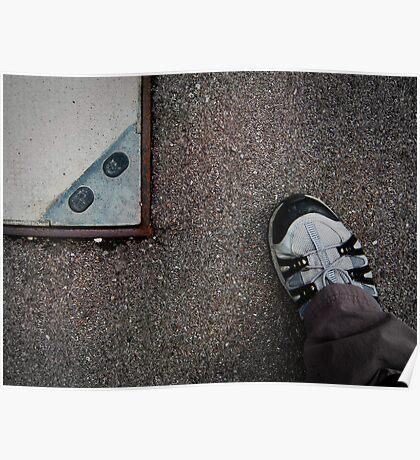 shoe'n edge Poster
