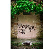 Graffito Mausoleo Photographic Print