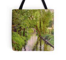 Brugge Waterway Tote Bag